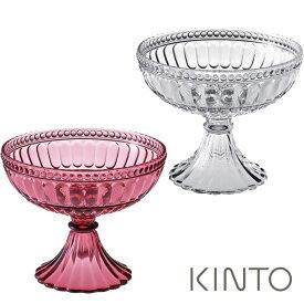 キントー ペタル ボウル 割れにくい プラスティック製 クリア・ワインレッド PETAL KINTO kinpet【ギフト袋対象】 ktwn