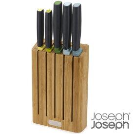 ジョセフジョセフ エレベートナイフ5P バンブーブロックセット 包丁 JosephJoseph joszzz【ギフト袋 対象】