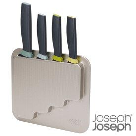 ジョセフジョセフ ドアストア ナイフ 4Pセット 包丁 JosephJoseph joszzz(BR0)【ギフト袋対象、ギフトBOX対象、熨斗対象】