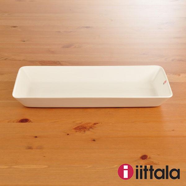 イッタラ ティーマ プラター 16cm×37cm ホワイト iittala Teema 【ギフト袋 対象】