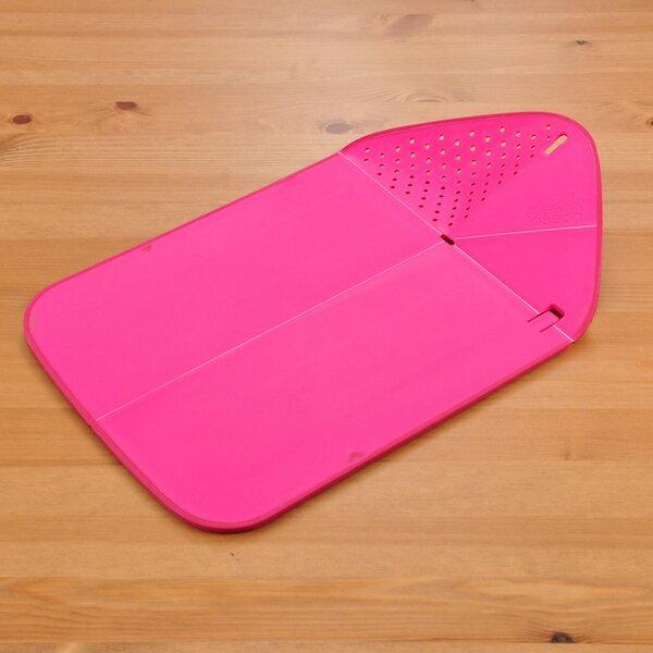 ジョセフジョセフ JosephJoseph リンス&チョップ プラス まな板 カッティングボード ピンク joszzz 【ギフト袋 対象】