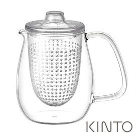キントー ユニティー ティーポットセット L プラスチック 720ml クリア KINTO UNITEA kinuni 【ギフト袋 対象】