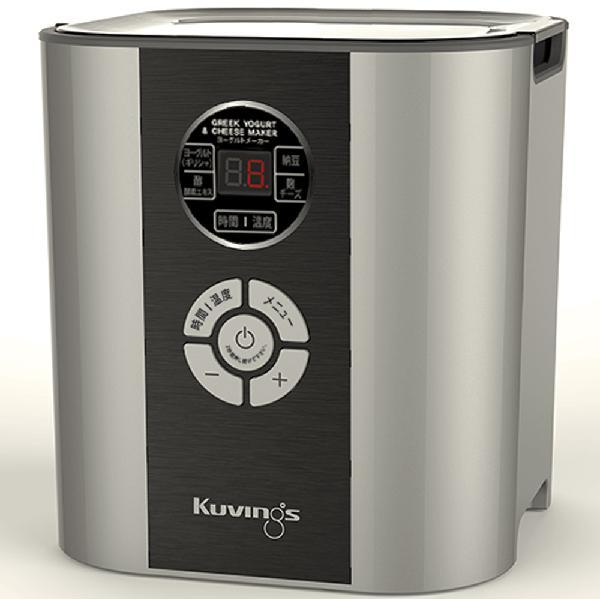 【 全品10%OFFクーポン 】 クビンス Kuvings ヨーグルト&チーズメーカー KGY-713SM シルバー kuvzzz(BR0) 【ギフト袋対象、ギフトBOX対象、熨斗対象】