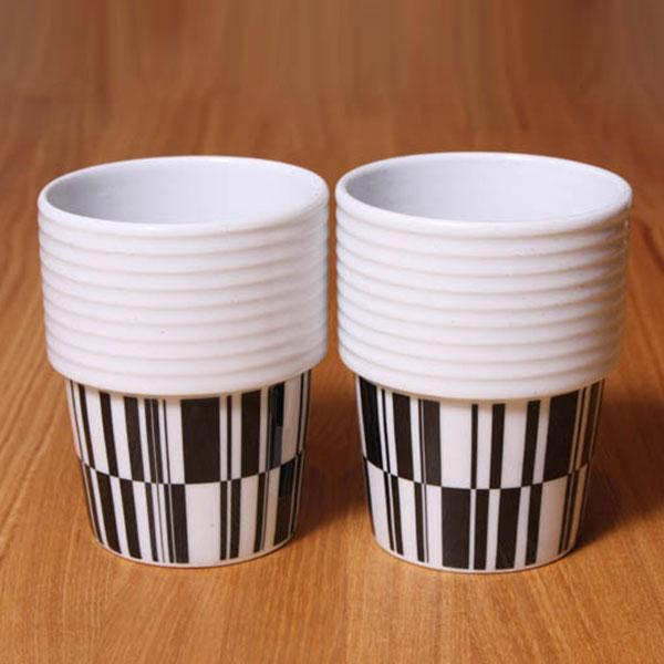 【 全品10%OFFクーポン 】 ロールストランド フィリッパ コー コーヒー マグ 2個セット 310ml Deco Filippa K rorswe Rorstrand 【ギフト袋 対象】