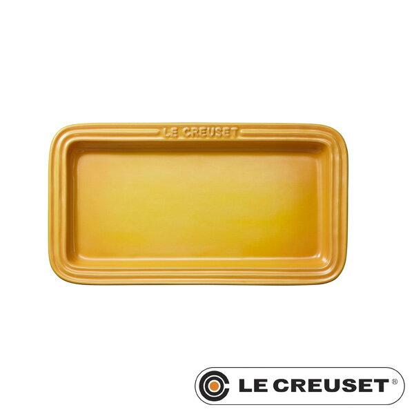 ルクルーゼ ストーンウェア レクタンギュラー・プレート LC 角皿 ディジョンイエロー Stoneware lecsto LE CREUSET 【ギフト袋 対象】
