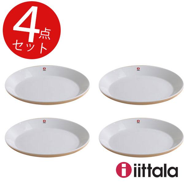 【 最安値挑戦 】イッタラ ティーマ プレート 23cm ホワイト 4枚セット (BR1) 16NL-03 【ギフト袋対象、ギフトBOX対象、熨斗対象】