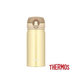 【全品10%OFFクーポン】サーモス 真空断熱ケータイマグ JNL-353 CRG マグボトル 350ml クリーミーゴールド THERMOS thezzz【ギフト袋対象】