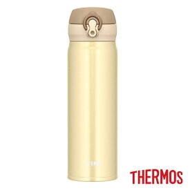 【全品10%OFFクーポン】サーモス 真空断熱ケータイマグ JNL-503 CRG マグボトル 500ml クリーミーゴールド THERMOS thezzz【ギフト袋対象】