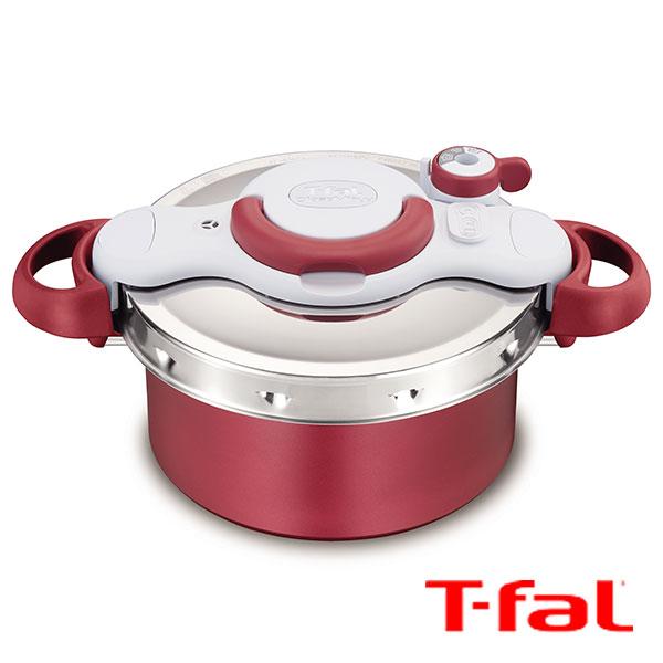 【 全品10%OFFクーポン 】 ティファール T-fal クリプソミニット デュオ 4.2L P4604236 圧力鍋 4.2L レッド tfapre