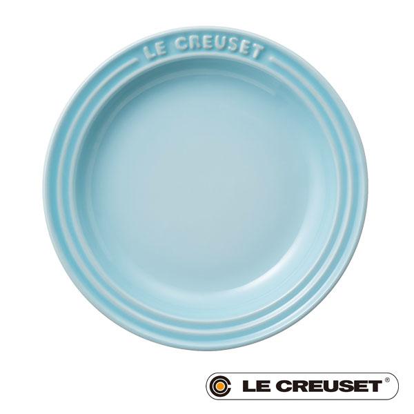 ル・クルーゼ LE CREUSET ベビー ラウンド・プレート LC 15cm パステルブルー Baby lecbab