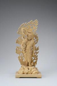 本柘植 極上彫眼入不動明王 5.0寸 42-2 仏像 木彫り 仏像 木彫 仏像フィギュア 仏像 オブジェ