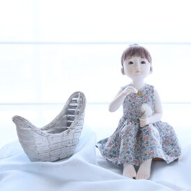 稲邊智津子 ドール 人形 洋 綿毛