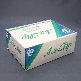 エースクリップ 乳白・透明 日本製のクリップ 1000本入