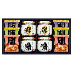 具材を味わうお味噌汁&北海道瓶詰セット SE1-302-5 内祝 出快気祝い 結婚祝 お中元 お歳暮