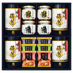 味のり&お味噌汁&北海道瓶詰セット SE1-302-6 内祝 出快気祝い 結婚祝 お中元 お歳暮