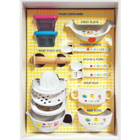 出産祝 ミキハウス テーブルウェアセット SE1-130-5 お食い初め 内祝い 贈り物ギフト