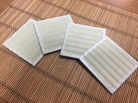 畳コースター(4枚入り)【和風/おしゃれ/い草/敬老の日/出産祝い】