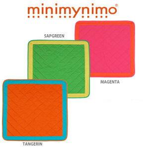ベビープレイマット 105×105cm 【ミニマイニモ minimynimo】【日本製】【赤すぐ】