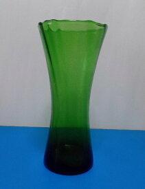ガラス一輪差し(グリーン)H-003