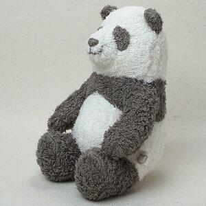 オーガニックコットン草木染めパンダのぬいぐるみS