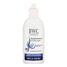 [NEW] BWC フェイシャルクレンザー 3%AHA入り 250ml(8.5floz) ビューティーウィザウトクルエルティー