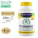 ピクノジェノール 100mg 120粒《120日》ヘルシーオリジンズ(Healthy Origins)(フランス海岸松樹皮エキス)高含有 ブ…