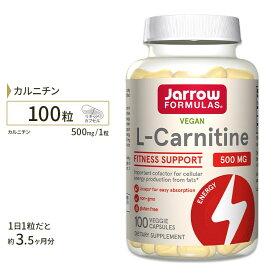 カルニチン サプリメント L-カルニチン 500mg 100粒(リキッドカプセル) サプリメント サプリ ダイエットサプリ カルニチン配合 Lカルニチン Jarrow Formulas