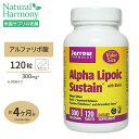 アルファリポ酸 300mg [お得サイズ]120粒サプリメント/サプリ/αリポ酸/ビオチン/タブレット/Jarrow Formulas/ジャロー/