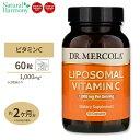 リポソームビタミンC 1,000mg 60カプセル Dr.Mercola (ドクターメルコラ)ハイクオリティサプリ