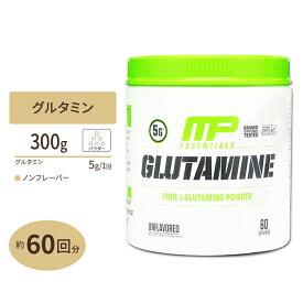 【正規代理店】MusclePharm, グルタミン パウダー 60回分 300グラム
