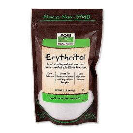 エリスリトール 454g(1lb)NOW Foods(ナウフーズ)パウダー ダイエット 低糖質 ノンカロリー シュガーレス 糖質制限