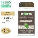 イチョウ葉 サプリメント ギンコゴールド マックス 120mg 60粒 サプリメント サプリ ダイエット・健康 サプリメント …