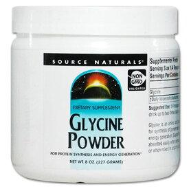 グリシン サプリメント グリシン パウダー 227g サプリメント サプリ ダイエット・健康 サプリメント アミノ酸配合 グリシン
