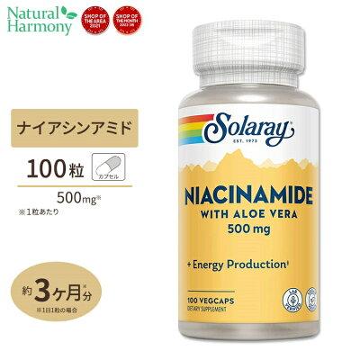 ナイアシンアミド(ビタミンB3)500mg100粒