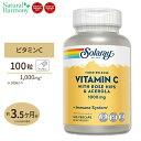 ビタミンC 1000mg 100粒(2段階タイムリリース型)サプリメント 健康サプリ SOLARAY ソラレー 栄養補助食品