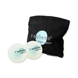 香り付きマッサージボール エンパワーミント ペパーミントアロマ 58mmラクロスボールサイズ t-spheres(ティースフィアズ)ホームスパ セルフマッサージ 旅行 すっきり