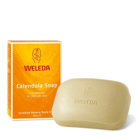 キンセンカソープ 100g WELEDA (ヴェレダ)カレンデュラ マリーゴールド 赤ちゃん せっけん セッケン 石鹸 石けん 固形 こけい ソープ ハンドソープ soap handsoap 手洗い てあらい 予防 対策 おしゃれ 保湿 洗浄 習慣 子供 大人 キッズ ケア