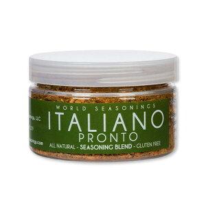 イタリアノ・プロント シーズニングブレンド 80g (2.8oz) World Seasonings (ワールドシーズニングス)調味料 香辛料 ハーブ 料理 簡単 美味しい