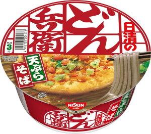 日清食品 どん兵衛 天ぷらそば 西 100g 12個入り