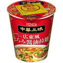 明星食品 明星 中華三昧タテ型 広東風とろみ醤油拉麺12個入り