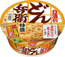 日清食品 どん兵衛 特盛かき揚げ天ぷらうどん 138g 12個入り