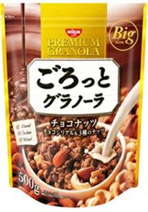 日清シスコ ごろっとグラノーラ チョコナッツ 500g 6個入り