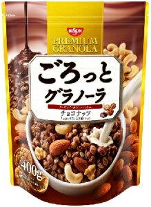 日清シスコ ごろっとグラノーラ チョコナッツ 400g 6個入り