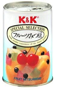 KK フルーツみつ豆 EO缶 4号缶 12個入り