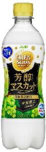 アサヒ飲料 19カルピスソーダ芳醇マスカットP500ミリ24本入り