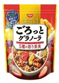 日清シスコ ごろっとグラノーラ 5種の彩り果実 400g 6個入り