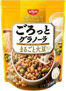 日清シスコ ごろっとグラノーラ まるごと大豆(400g) 6個入り