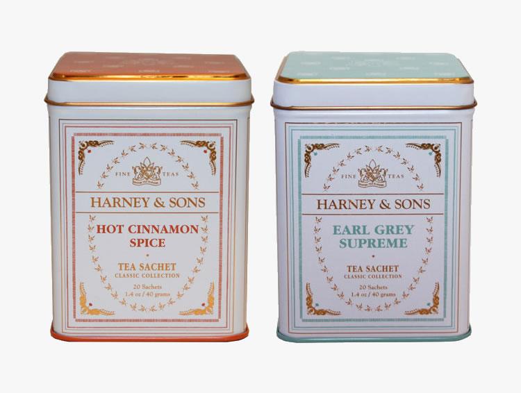 Hot Cinnamon Spice TINCAN & Earl Grey Supreme TINCAN ホット・シナモン・スパイス&アールグレイ・スープリーム ギフトボックス入り