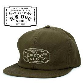 THE H.W.DOG&CO. ドッグアンドコー トラッカー キャップ ブラウン