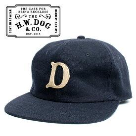 THE H.W.DOG&CO. ドッグアンドコー ベースボールキャップ ネイビー